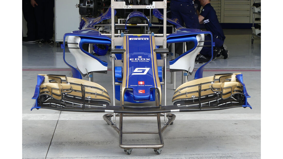 Sauber - Formel 1 - GP Bahrain -Sakhir - Donnerstag - 13.4.2017
