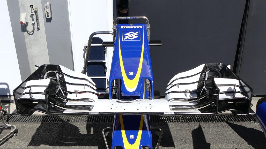 Sauber - Formel 1 - GP Belgien - 24. August 2016