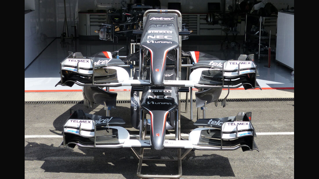 Sauber - Formel 1 - GP Belgien - Spa-Francorchamps - 20. August 2014