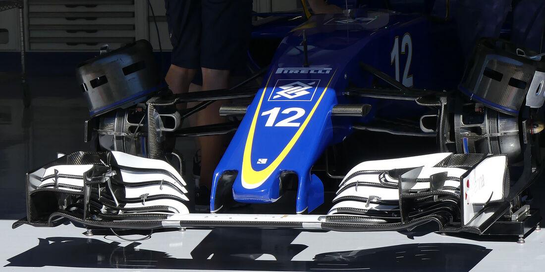 Sauber - Formel 1 - GP Belgien - Spa-Francorchamps - 25. August 2016