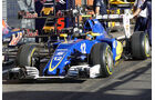 Sauber - Formel 1 - GP Belgien - Spa-Francorchamps - 25. August 2016