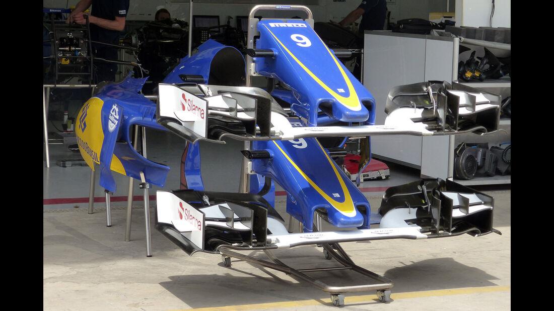 Sauber - Formel 1 - GP Brasilien- 11. November 2015