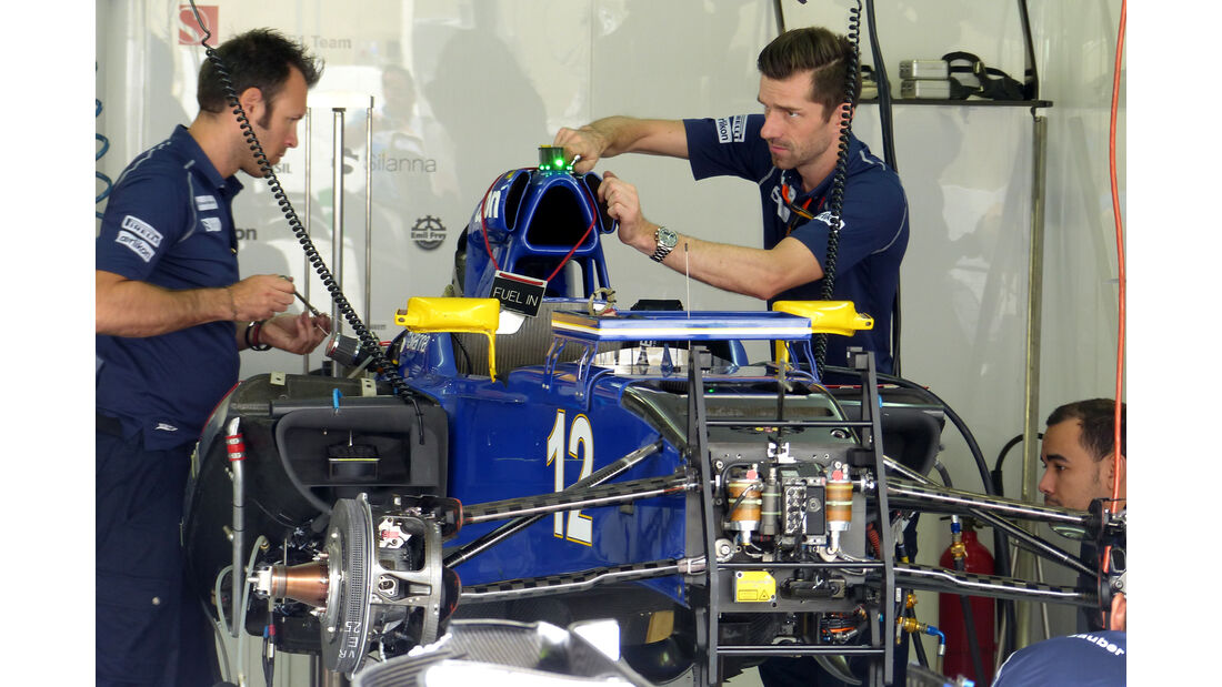Sauber - Formel 1 - GP Brasilien- 12. November 2015