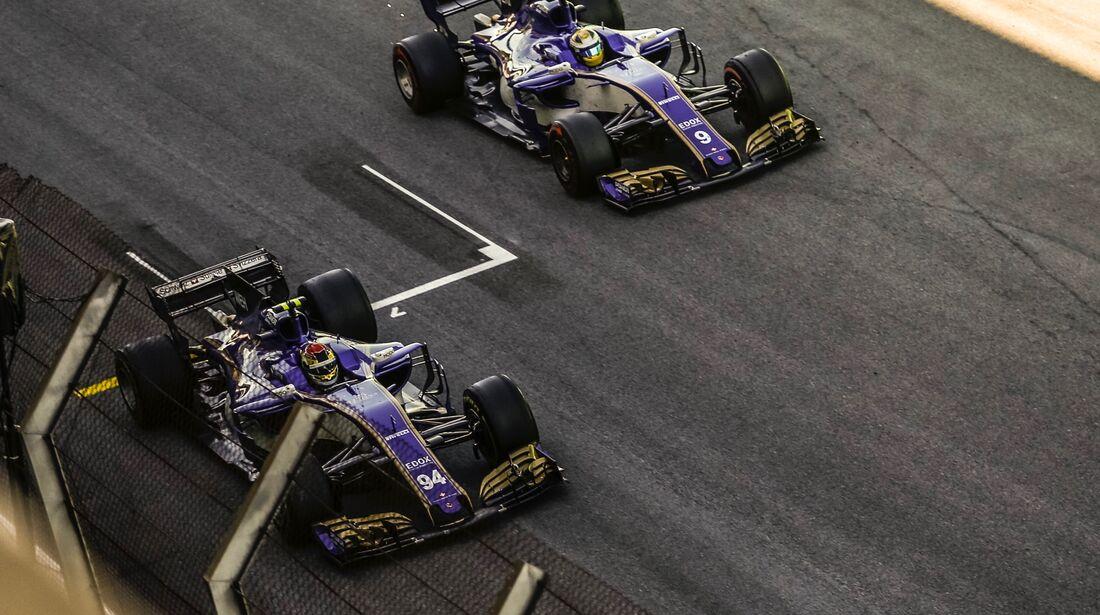 Sauber - Formel 1 - GP Brasilien - 12. November 2017