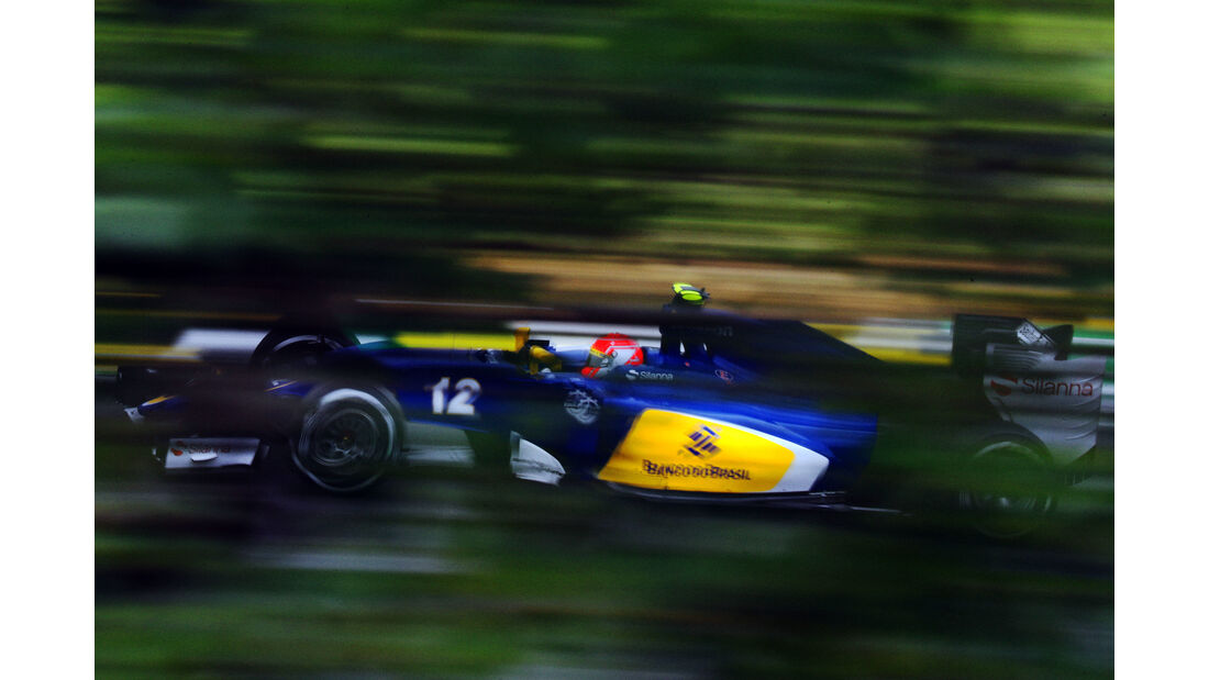 Sauber  Formel 1 - GP Brasilien- 13. November 2015