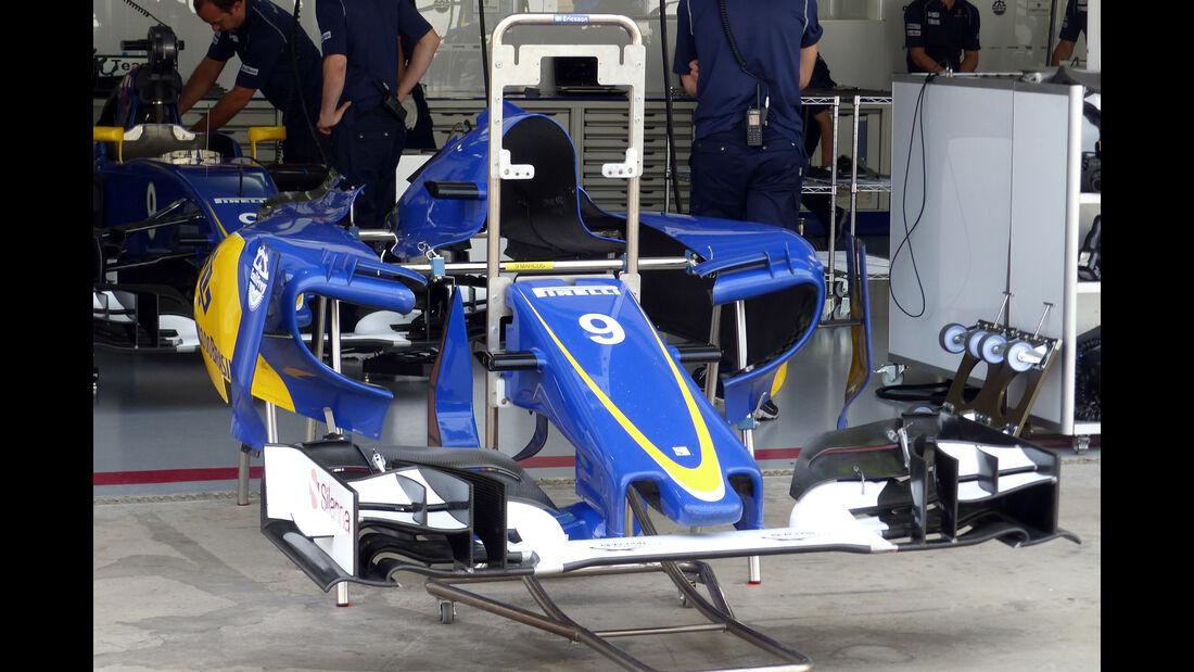 Sauber - Formel 1 - GP Brasilien- 14. November 2015