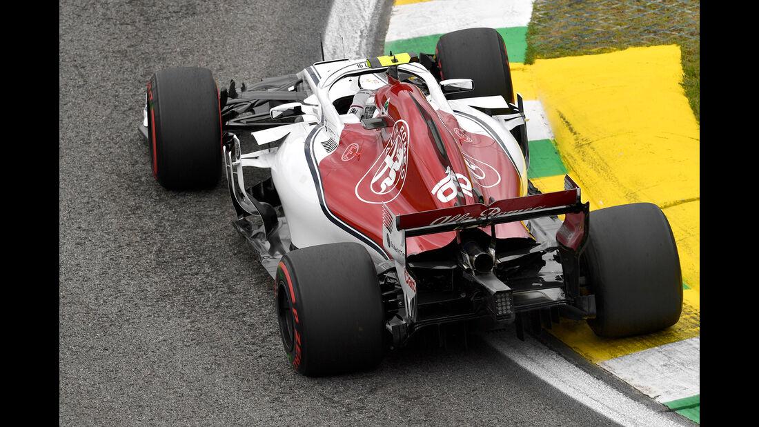 Sauber - Formel 1 - GP Brasilien 2018