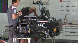 Sauber - Formel 1 - GP Brasilien -5. November 2014