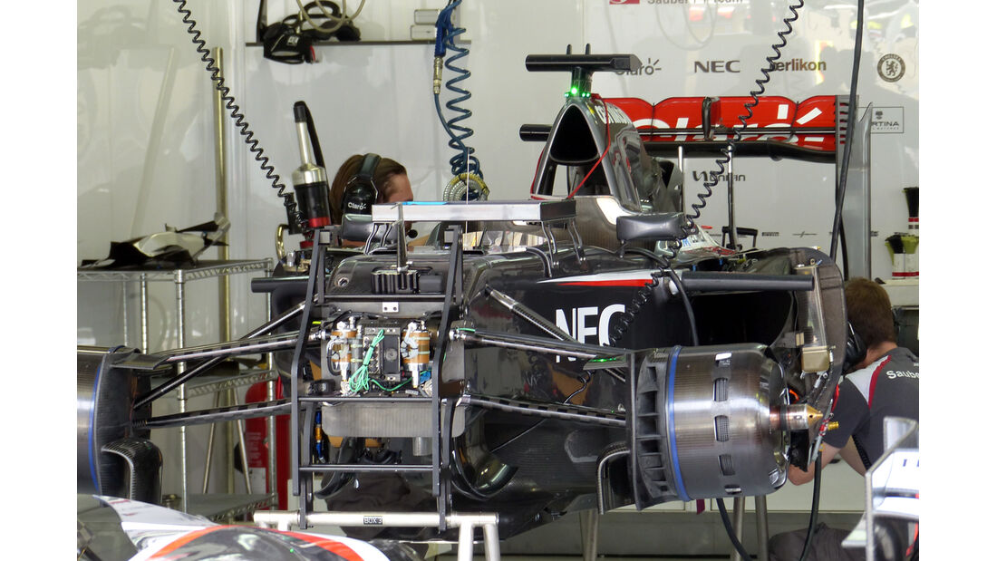 Sauber - Formel 1 - GP Brasilien- 7. November 2014