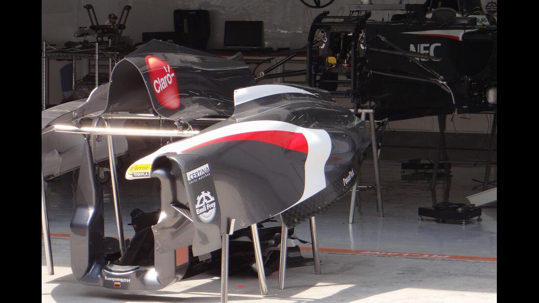 Sauber  - Formel 1 - GP China - 10. April 2013