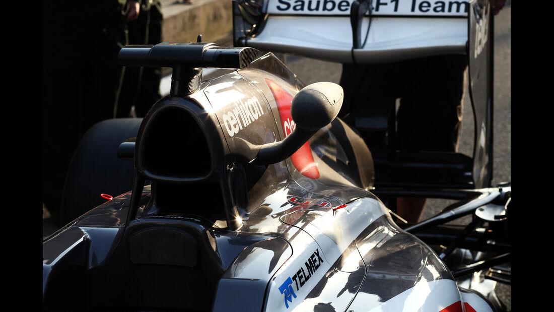 Sauber - Formel 1 - GP China - 11. April 2013
