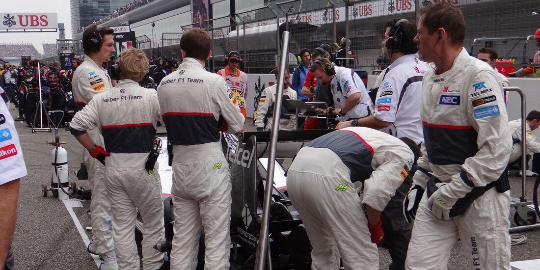 Sauber  - Formel 1 - GP China - 15. April 2012