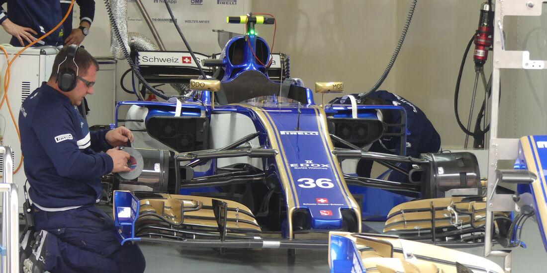 Sauber - Formel 1 - GP China 2017 - Shanghai - 7.4.2017