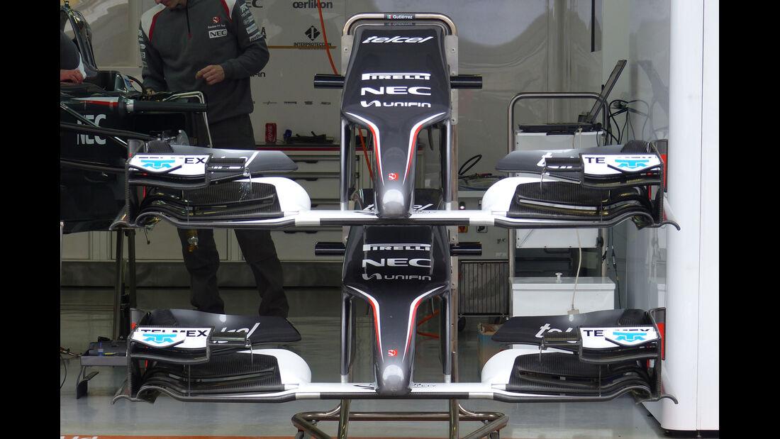 Sauber - Formel 1 - GP China - Shanghai - 16. April 2014