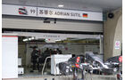 Sauber - Formel 1 - GP China - Shanghai - 16. April 2014