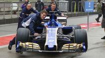 Sauber - Formel 1 - GP China - Shanghai - 6.4.2017