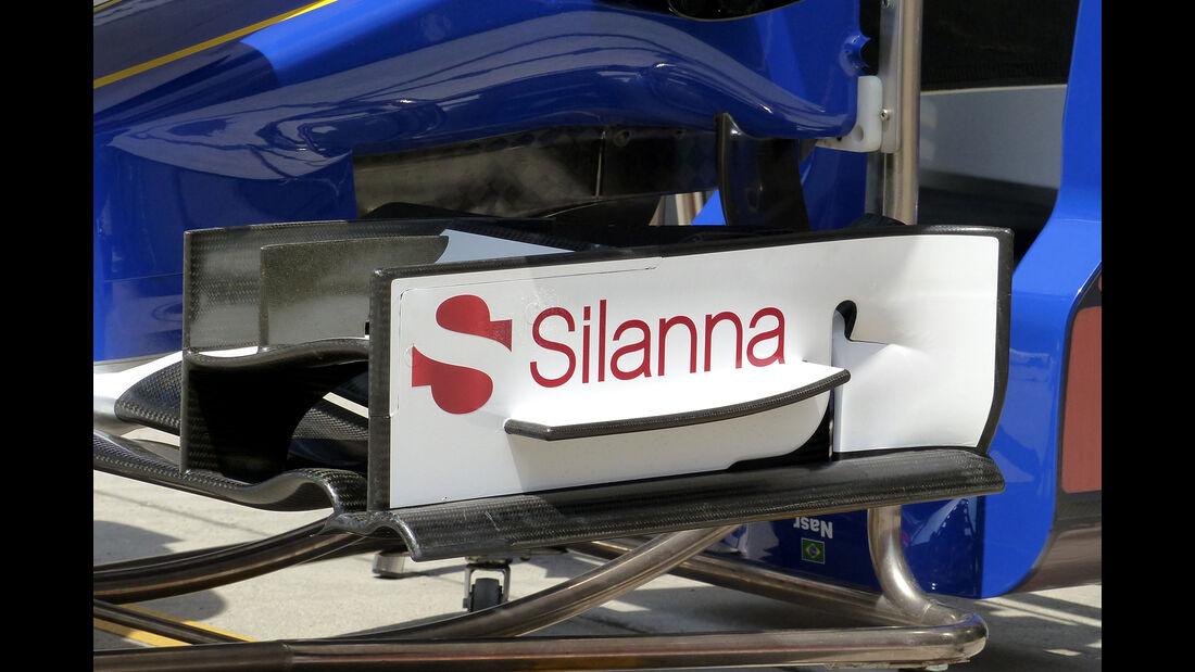 Sauber - Formel 1 - GP China - Shanghai - 9. April 2015