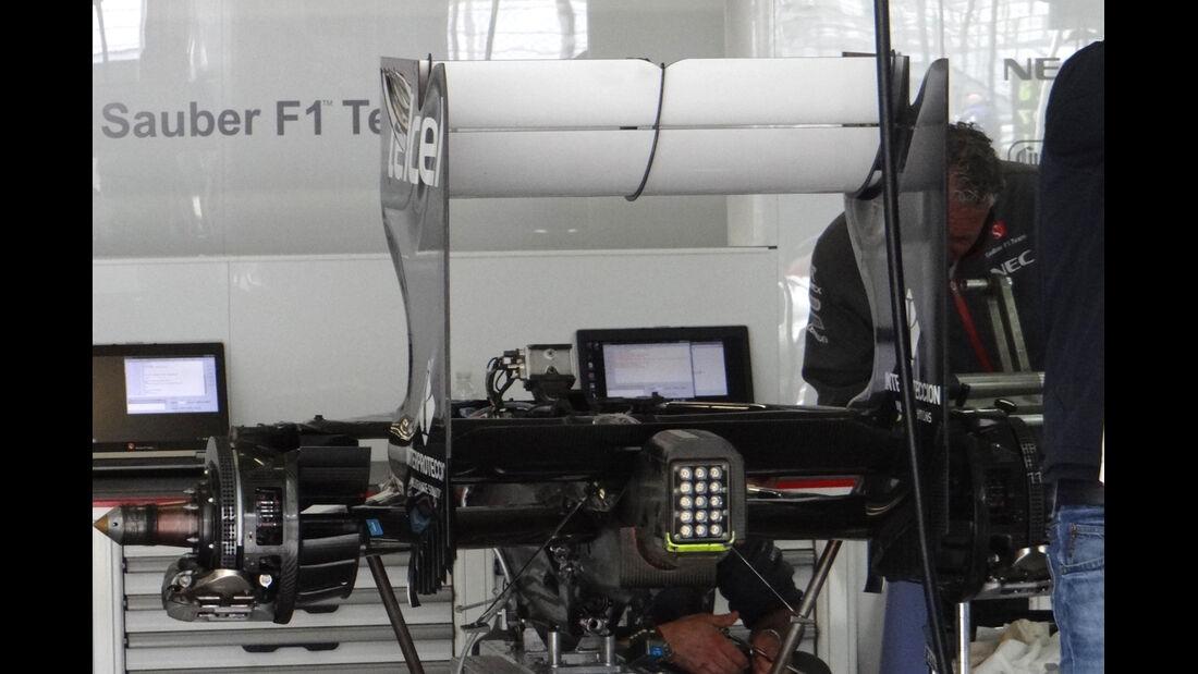 Sauber - Formel 1 - GP Deuschland - 5. Juli 2013