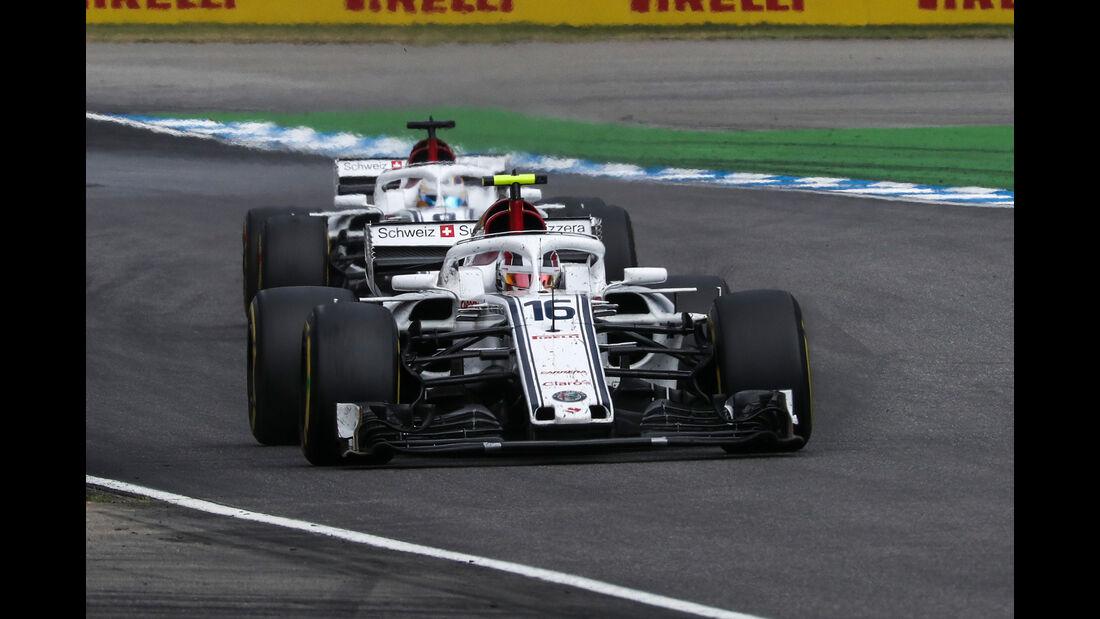 Sauber - Formel 1 -GP Deutschland 2018
