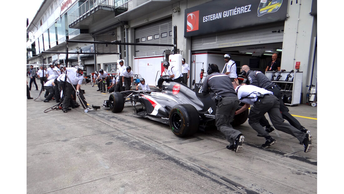Sauber - Formel 1 - GP Deutschland - 4. Juli 2013