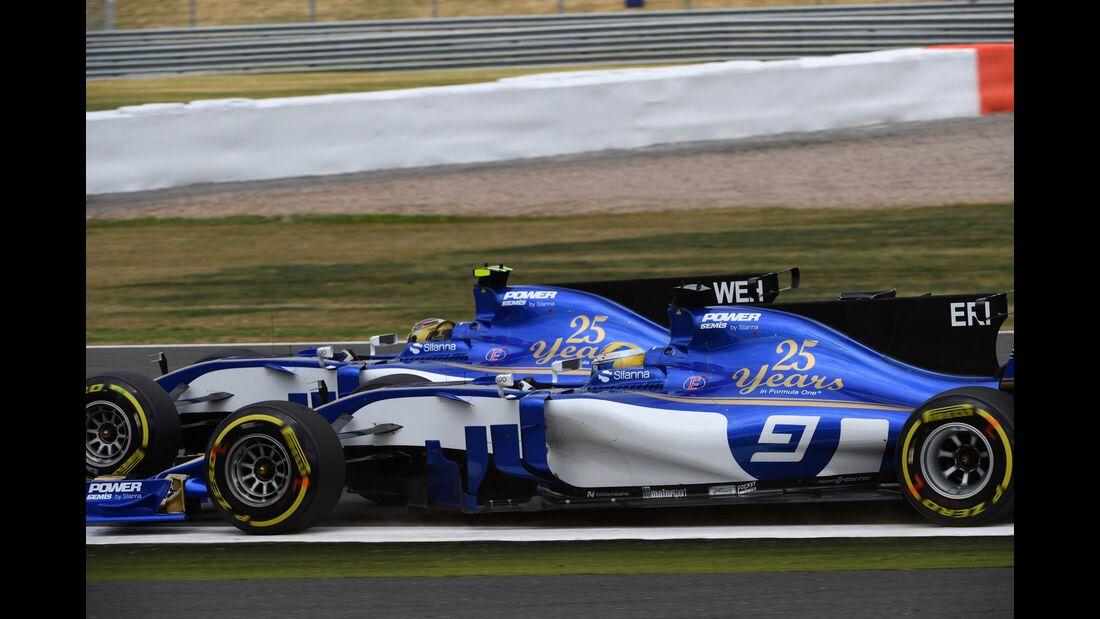 Sauber - Formel 1 - GP England - 16. Juli 2017