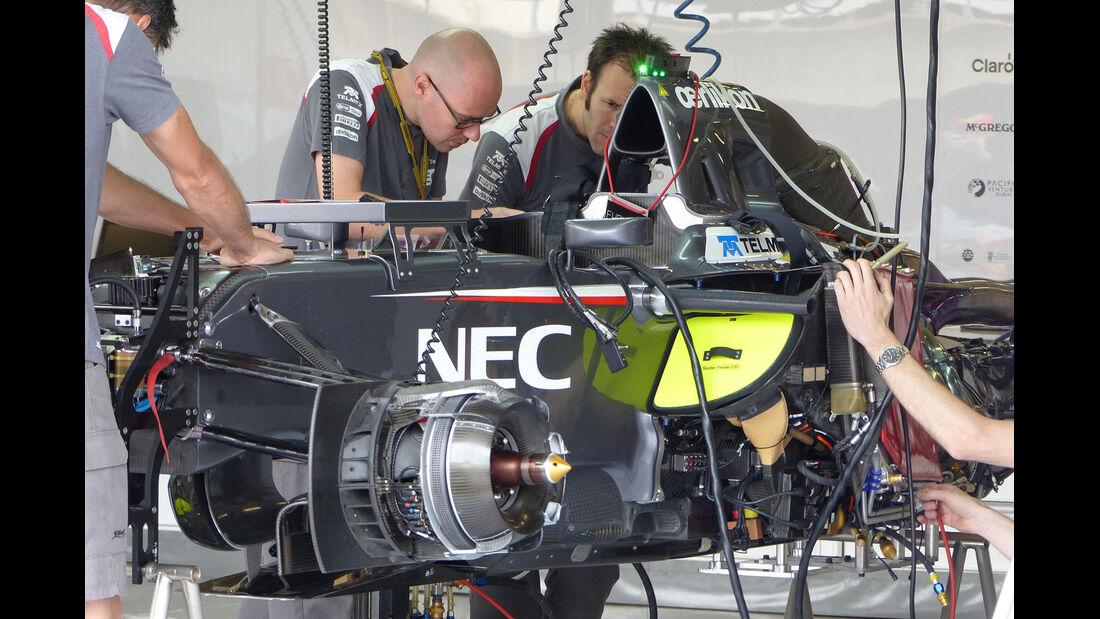 Sauber - Formel 1 - GP England - Silverstone - 3. Juli 2014
