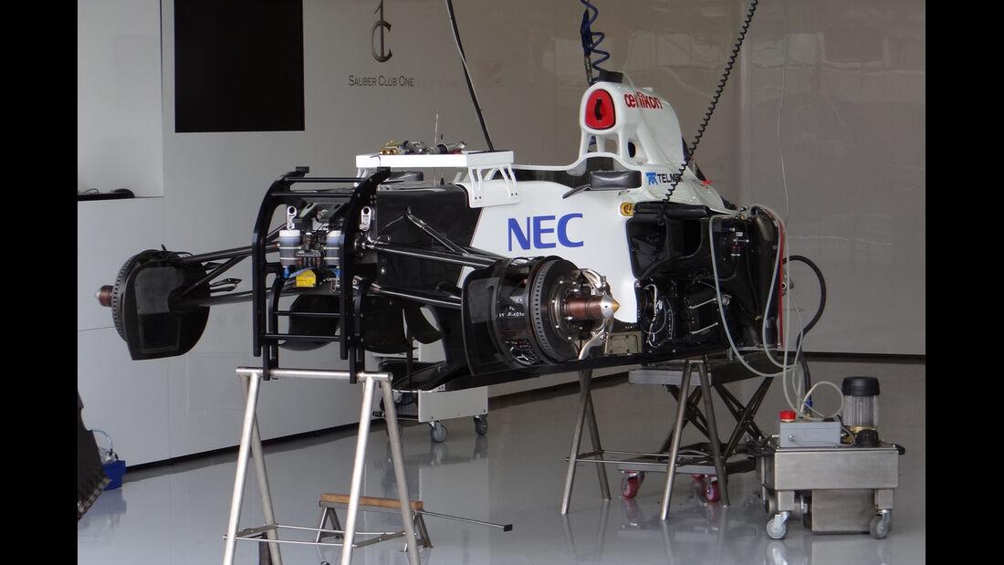 Sauber - Formel 1 - GP England - Silverstone - 5. Juli 2012