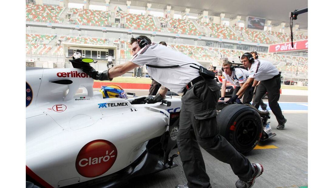 Sauber - Formel 1 - GP Indien - 26. Oktober 2012
