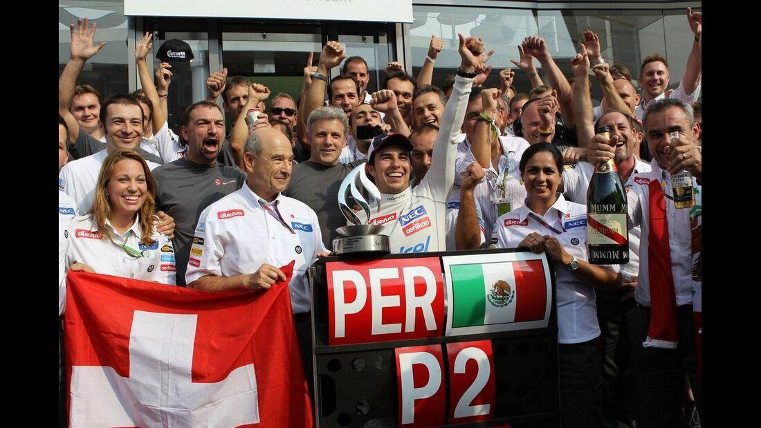 Sauber  - Formel 1 - GP Italien - 09. September 2012