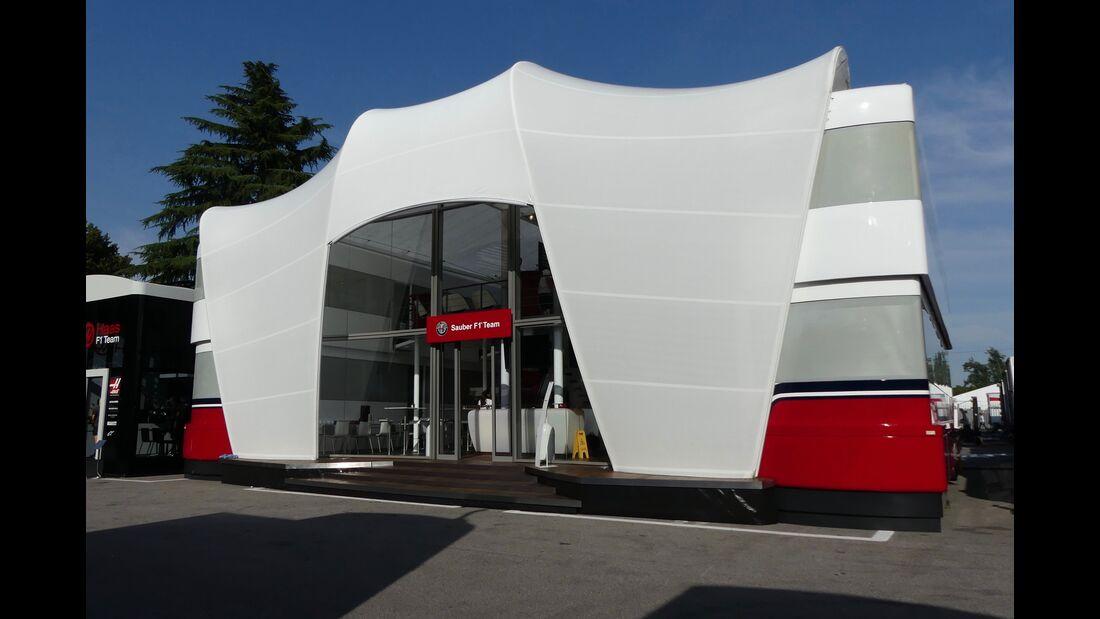 Sauber - Formel 1 - GP Italien - 29. August 2018