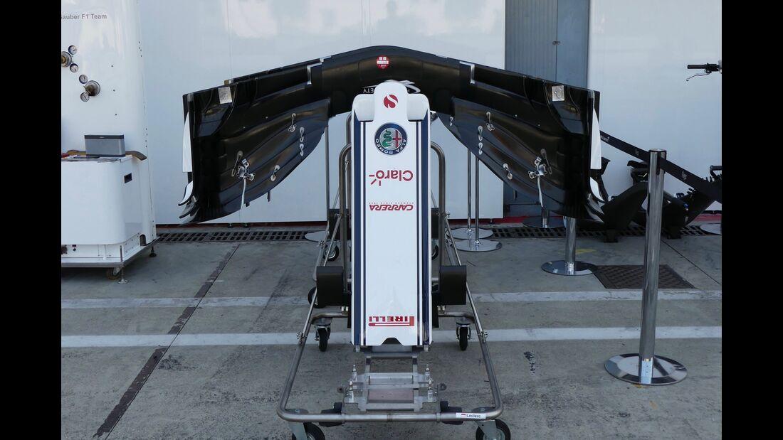 Sauber - Formel 1 - GP Italien - 30. August 2018