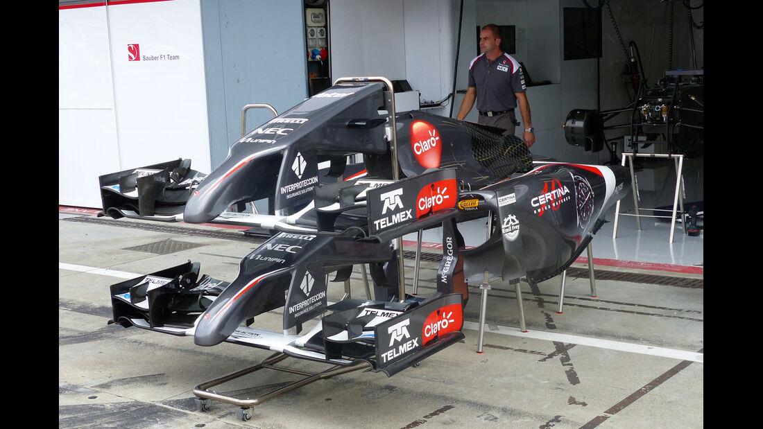 Sauber- Formel 1 - GP Italien - 5. September 2014