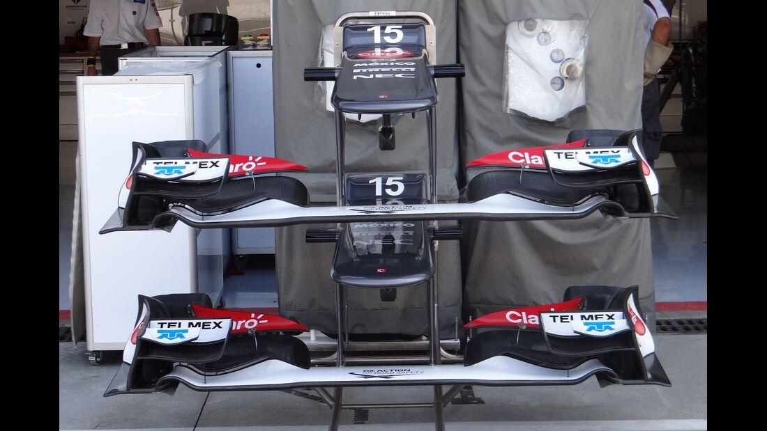 Sauber - Formel 1 - GP Italien - 6. September 2012