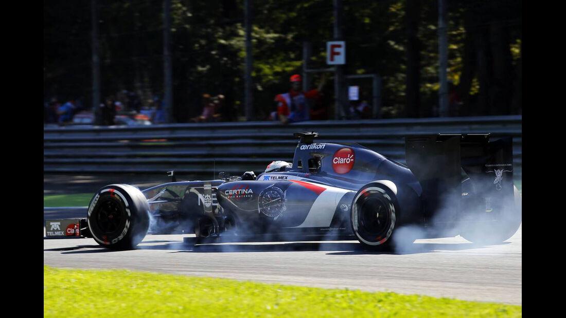 Sauber - Formel 1 - GP Italien - 6. September 2014