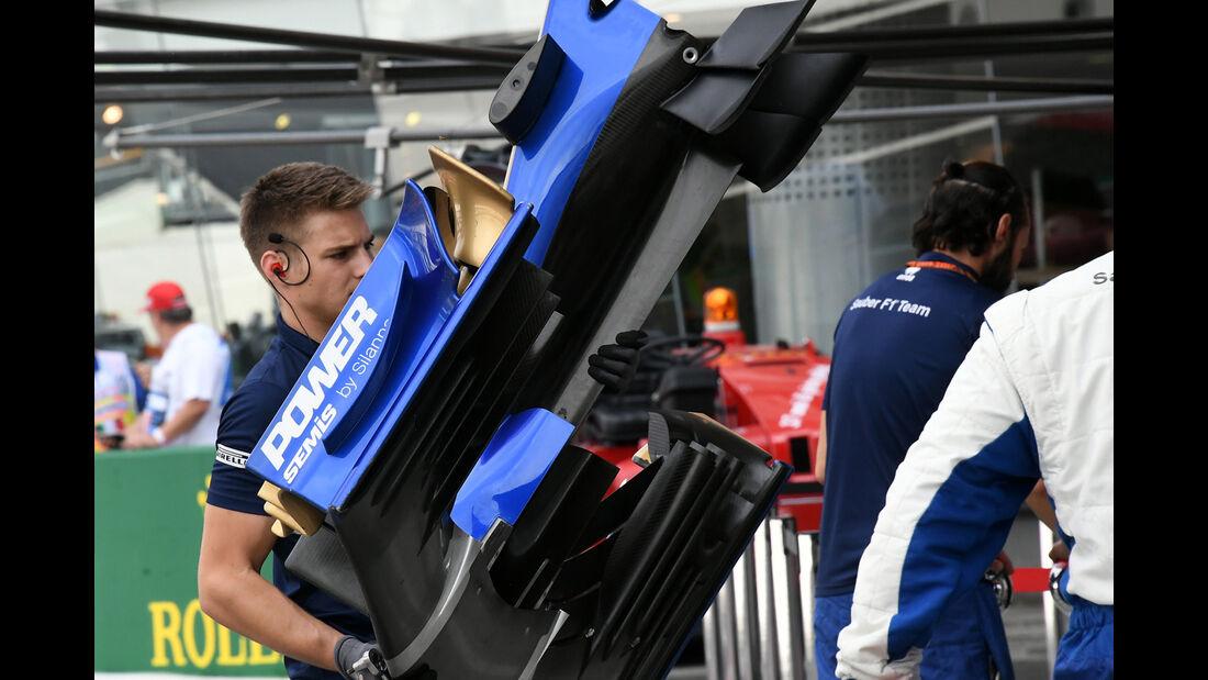 Sauber - Formel 1 - GP Italien - Monza - 1. September 2017