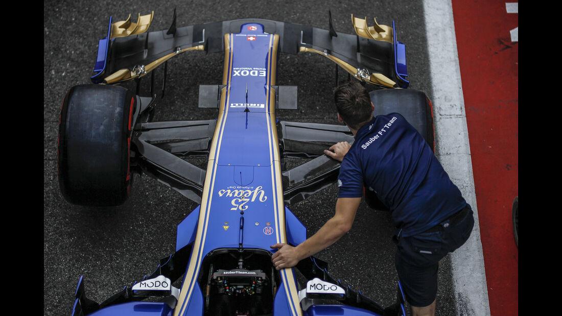 Sauber - Formel 1 - GP Italien - Monza - 31. August 2017