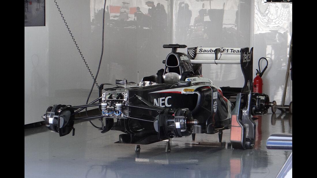 Sauber - Formel 1 - GP Japan - Suzuka - 10. Oktober 2013