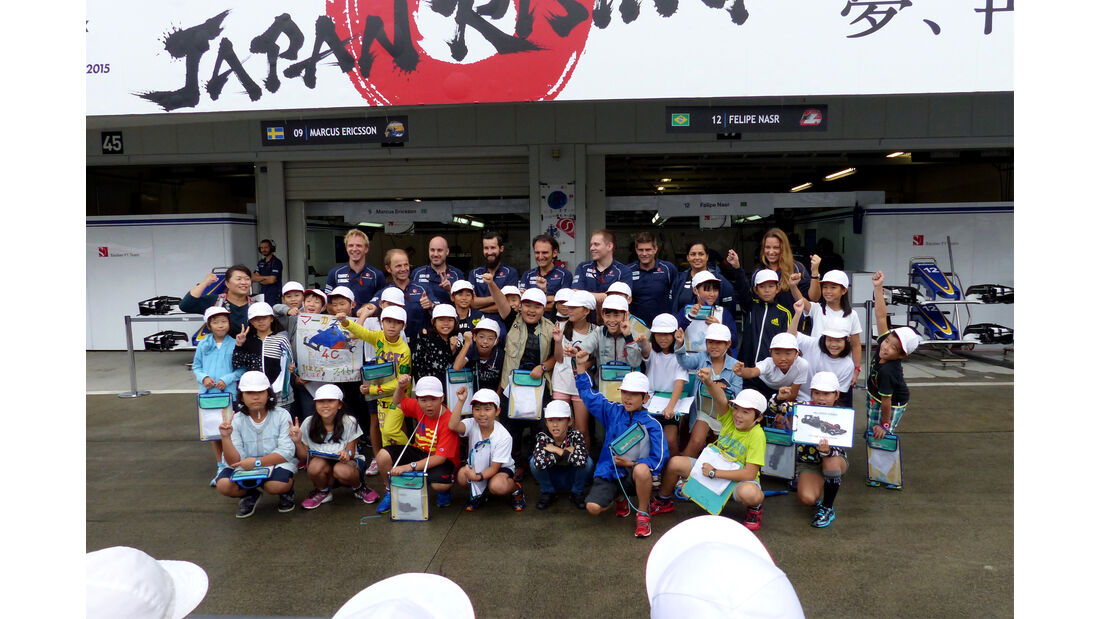 Sauber - Formel 1 - GP Japan - Suzuka - 24. September 2015