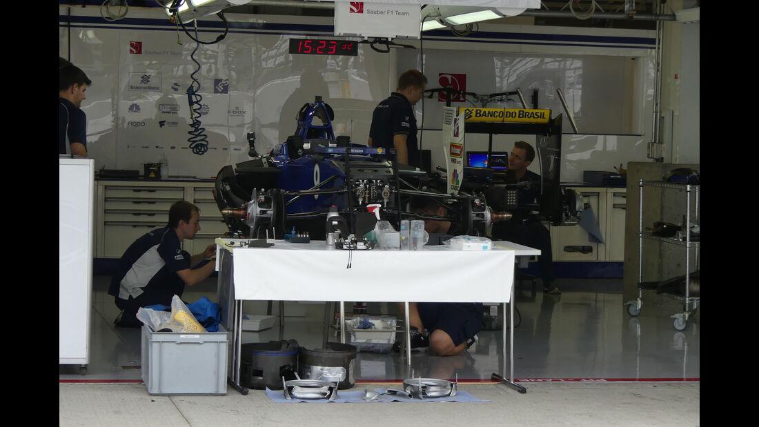 Sauber - Formel 1 - GP Japan - Suzuka - Mittwoch - 5.10.2016