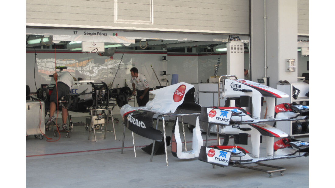 Sauber - Formel 1 - GP Korea - 13. Oktober 2011