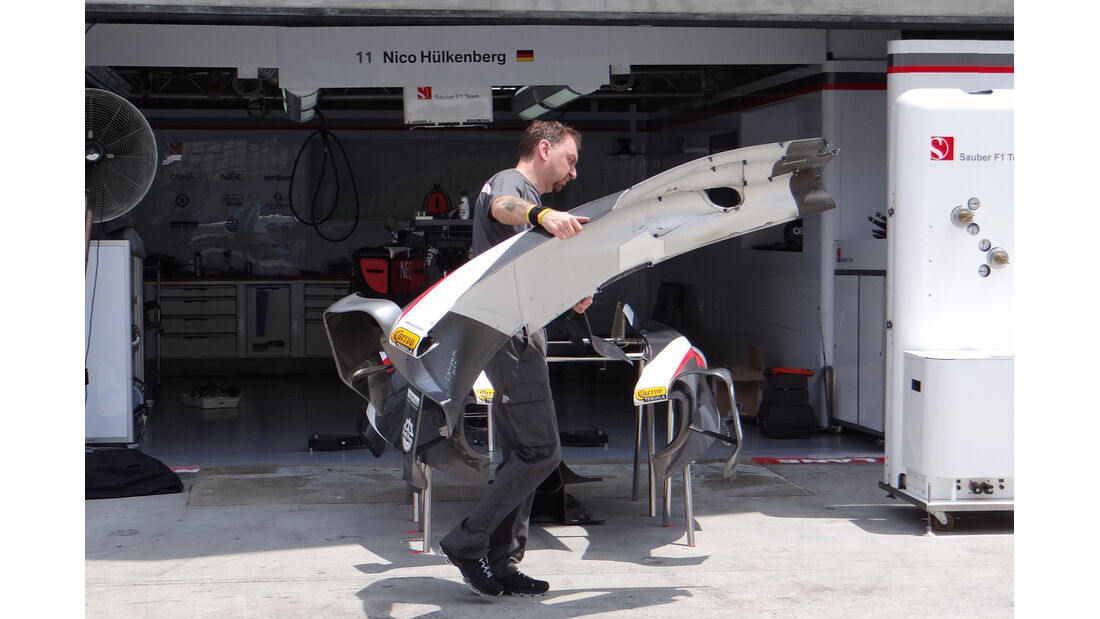 Sauber - Formel 1 - GP Malaysia - 20. März 201