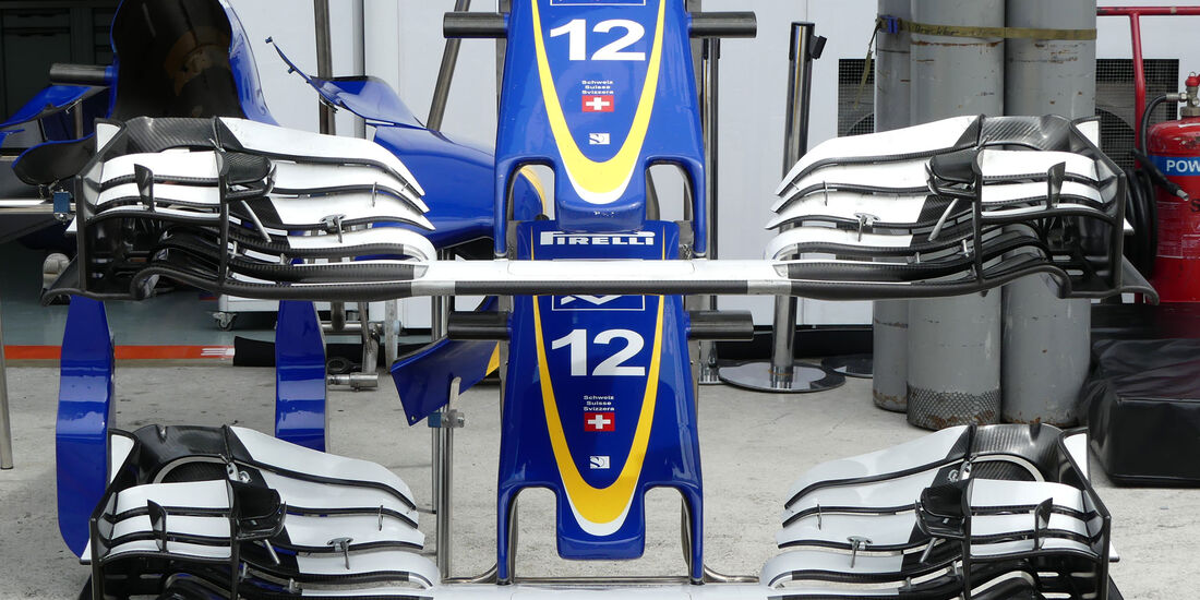 Sauber - Formel 1 - GP Malaysia - Sepang - Donnerstag - 29.9.2016