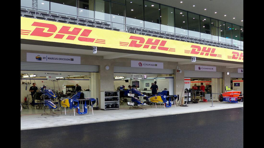Sauber - Formel 1 - GP Mexico - 28. Oktober 2015