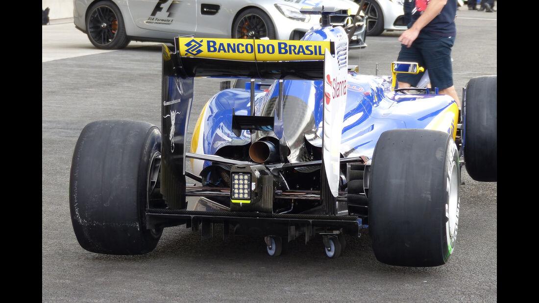 Sauber - Formel 1 - GP Mexico - 29. Oktober 2015