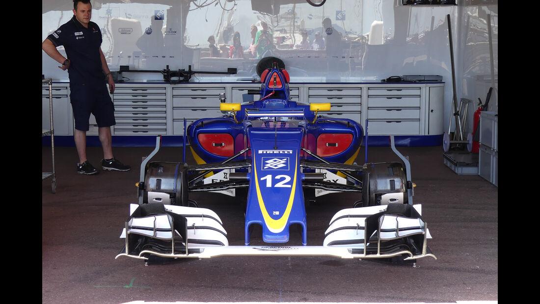 Sauber - Formel 1 - GP Monaco - 24. Mai 2016