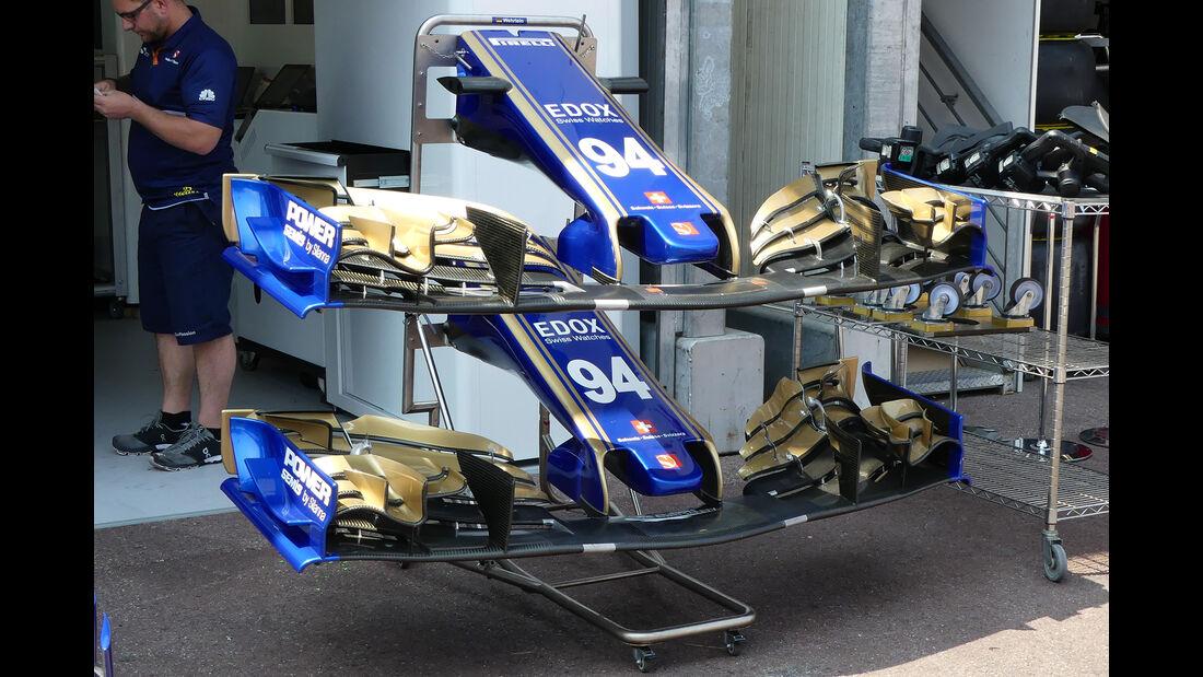 Sauber - Formel 1 - GP Monaco - 26. Mai 2017