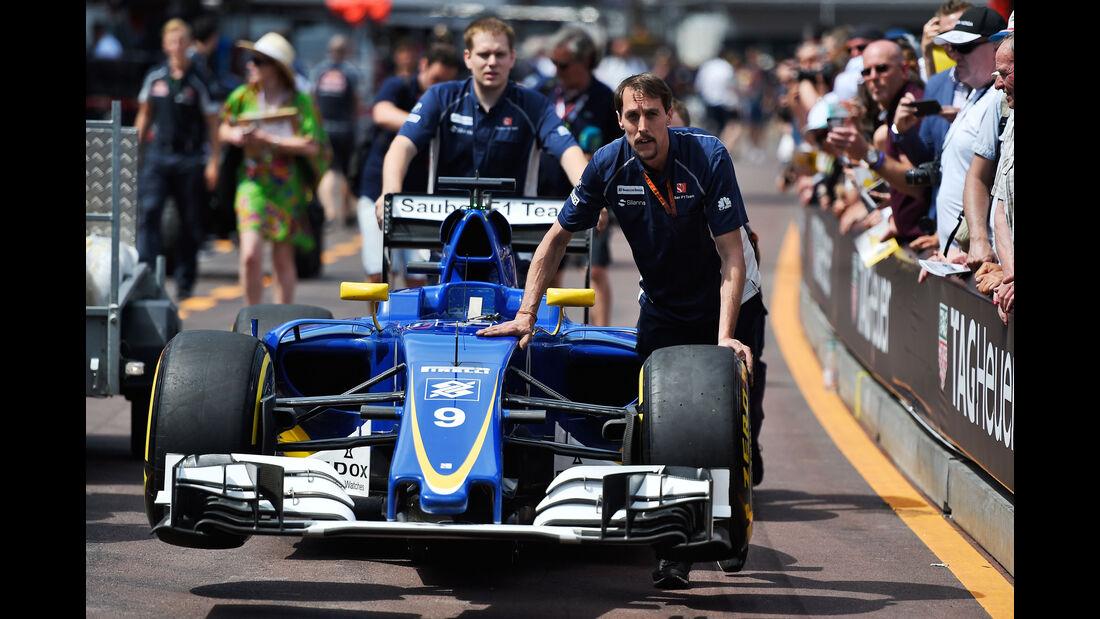 Sauber - Formel 1 - GP Monaco - 27. Mai 2016