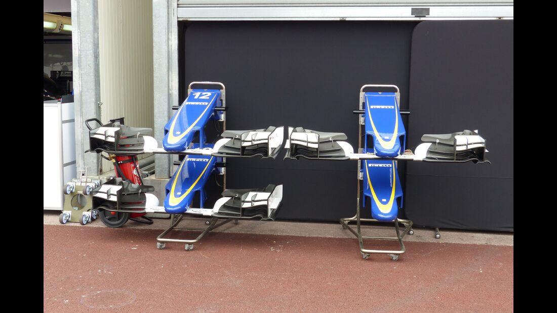 Sauber  - Formel 1 - GP Monaco - Donnerstag - 21. Mai 2015