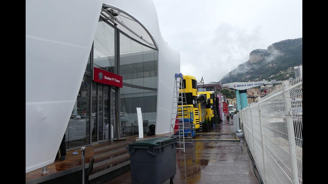 Sauber - Formel 1 - GP Monaco - Mittwoch - 22.5.2018