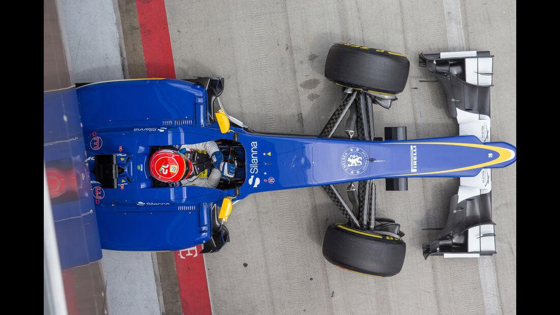 Sauber - Formel 1 -  GP Österreich 2015